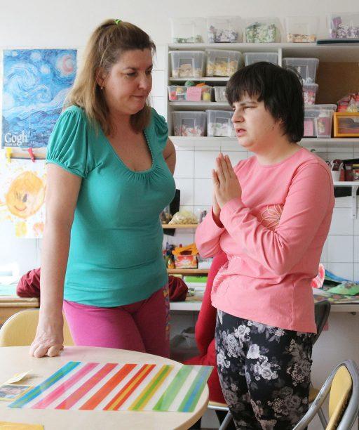 Jednou z výziev je nevzdávať sa, hovorí inštruktorka sociálnej rehabilitácie Andrea Žáčiková