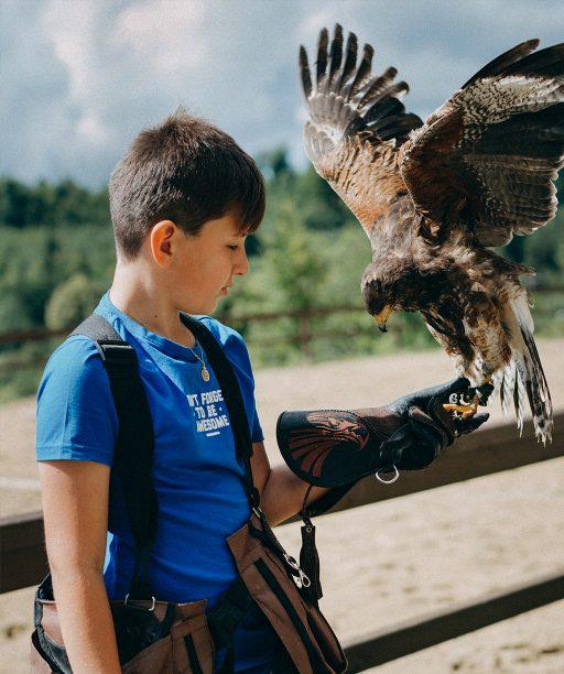 Školu v Štiavnických Baniach poznajú vďaka predmetu sokoliarstvo po celom svete, vzťah detí k prírode sa odráža vo všetkých školských aktivitách