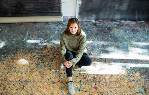 Maliarka roka Lucia Oleňová: Živiť sa umeleckou prácou je náročnejšie ako podnikanie