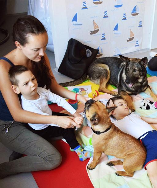 Keď pes lieči. Canisterapia v centre na Spiši pomáha deťom rozvíjať empatiu a odbúrať napätie