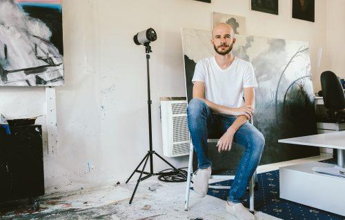 Maliar Miroslav Sandanus: Rozprávam málo, nechávam obrazy hovoriť za mňa