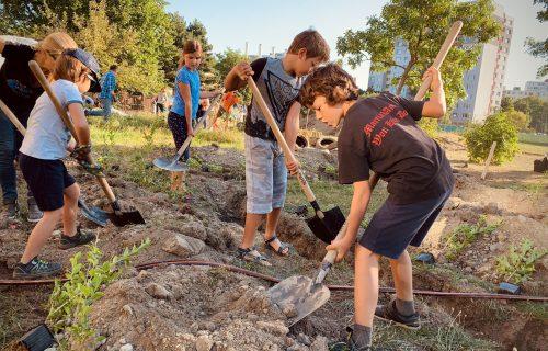 Deti potrebujú rôzne ihriská. Ich rodičia vytvorili prírodné ostrovy uprostred petržalského sídliska